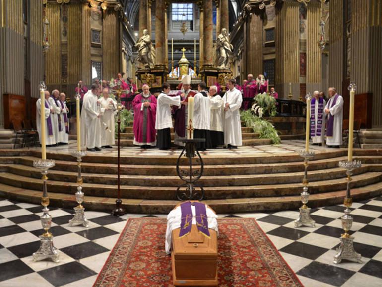 Il funerale cattolico